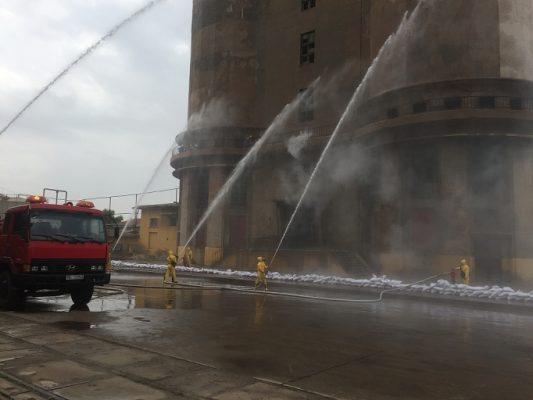 Tổ chức diễn tập ứng phó sự cố hóa chất tỉnh Bắc Giang